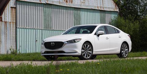 Land vehicle, Vehicle, Car, Automotive design, Mid-size car, Mazda, Mazda6, Luxury vehicle, Wheel, Automotive tire,