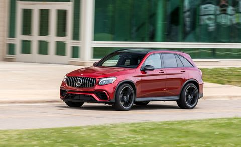 2018 Mercedes-AMG GLC63 4MATIC