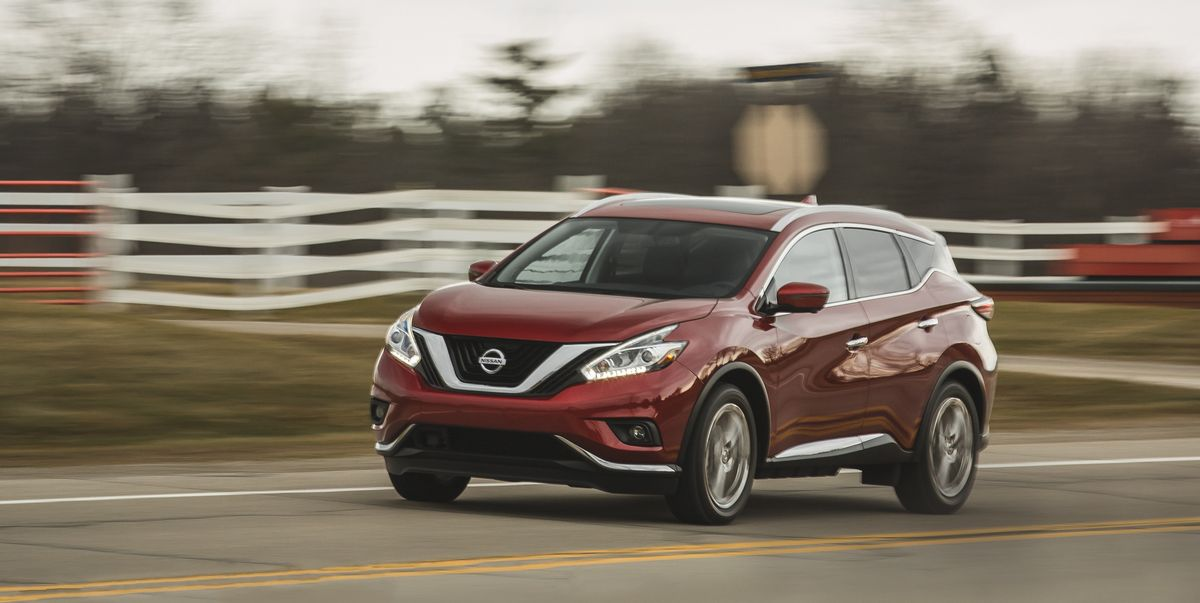 2018 Nissan Murano Awd Tested The Near Luxury Conundrum Review Car And Driver