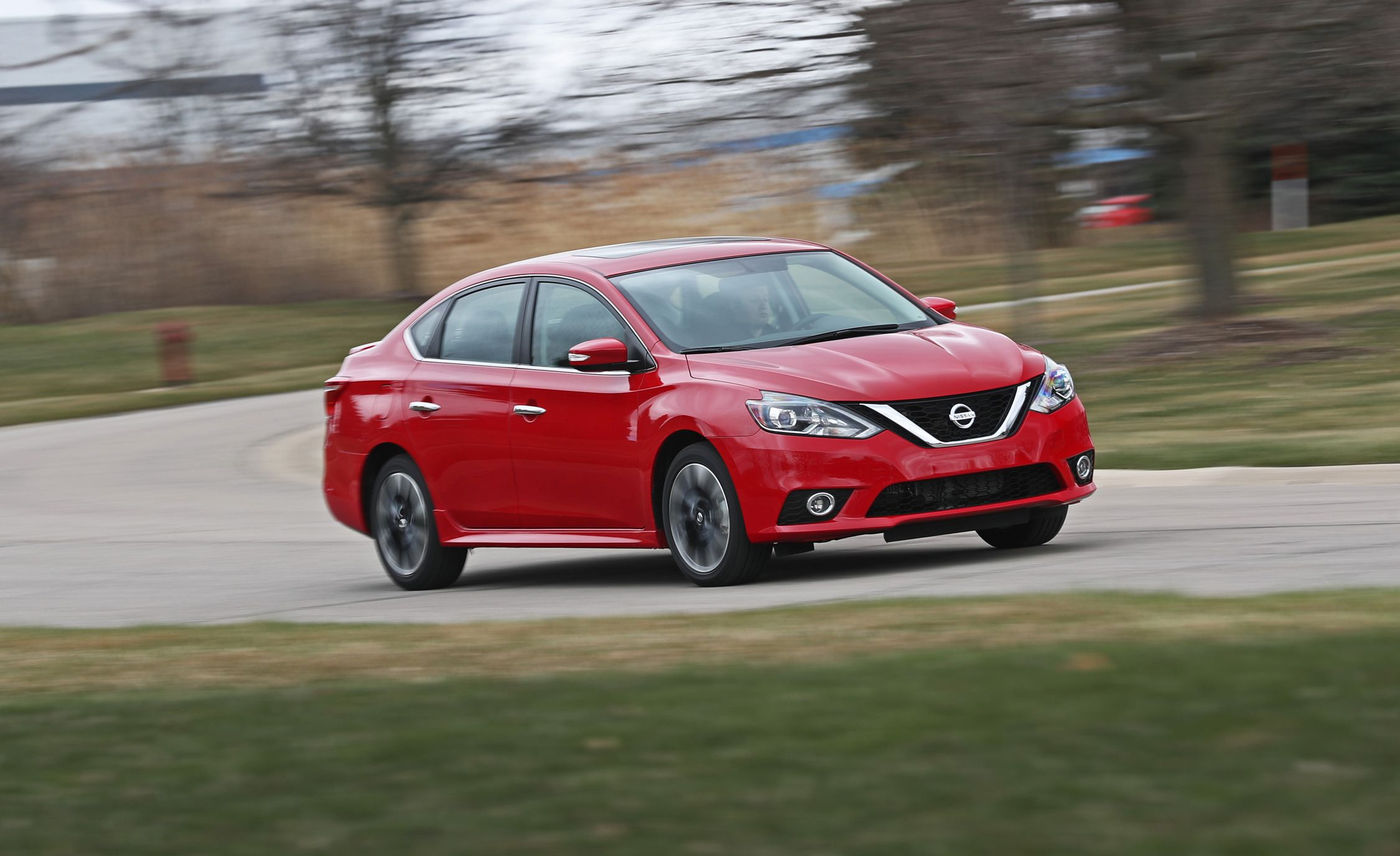 2018 Nissan Sentra Sr Turbo Manual Test Nismo Punch In An Package Review Car And Driver