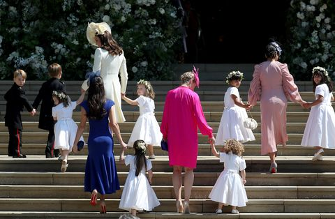 royal wedding 2018 kate middleton bridal party