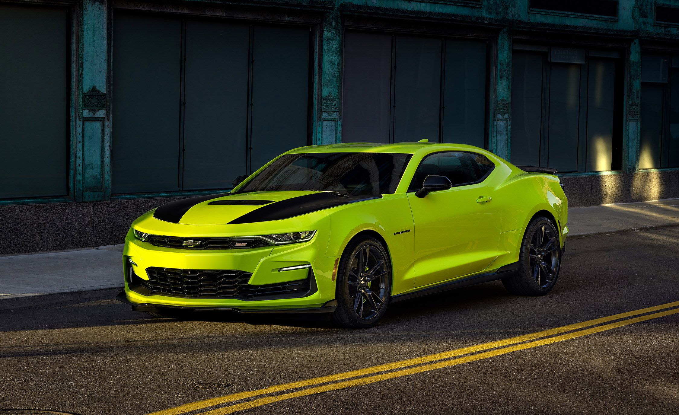 2019 Chevrolet Camaro Adds Extreme Yellow Color Preview The Sema