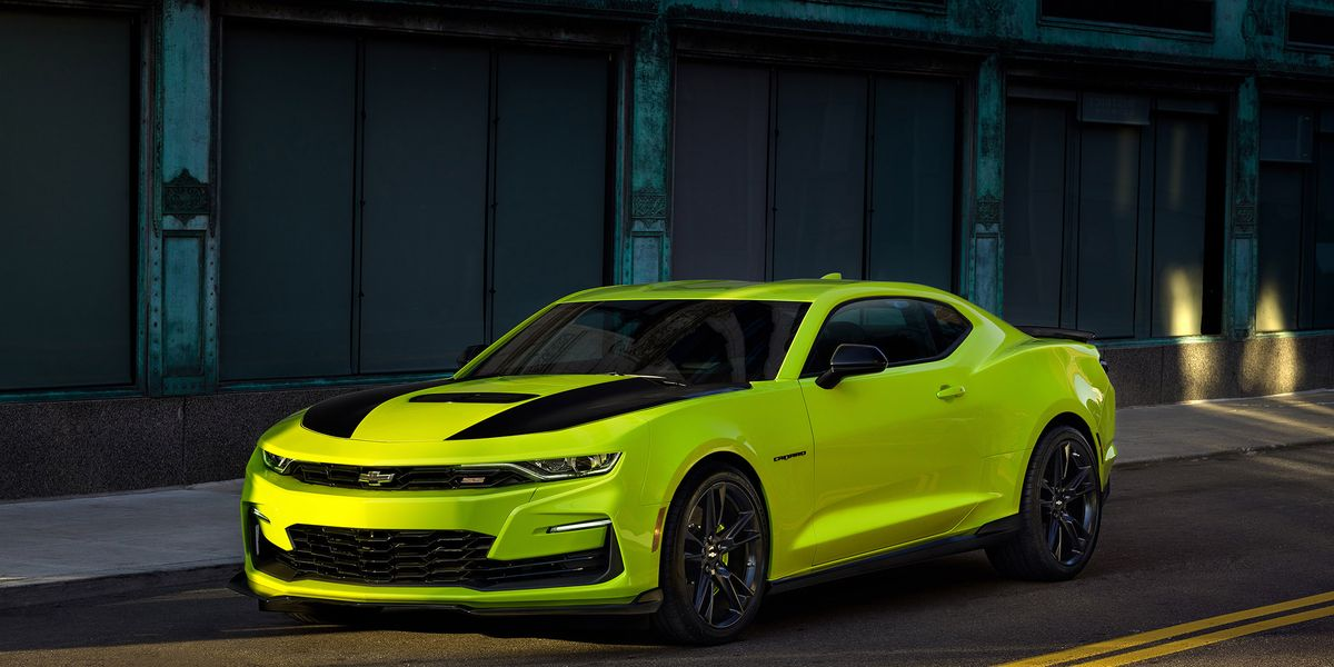 chevrolet camaro adds extreme yellow color preview  sema concept