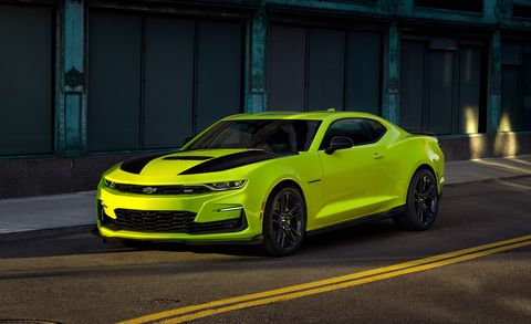 2019 Chevrolet Camaro Adds Extreme Yellow Color – Preview the SEMA Concept
