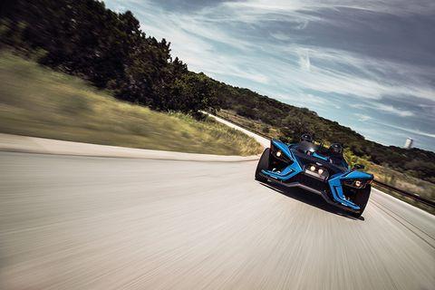 Sky, Vehicle, Asphalt, Automotive design, Race track, Road, Car, Cloud, Tourism, Mountain,