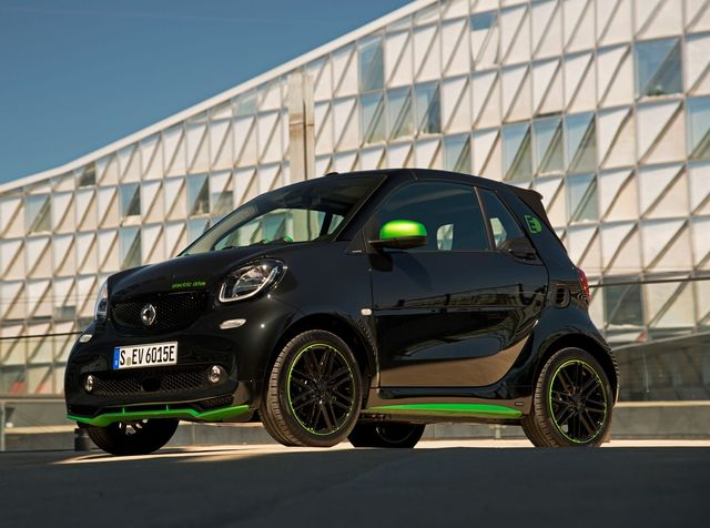 2018 Smart Electric Drive Cabriolet