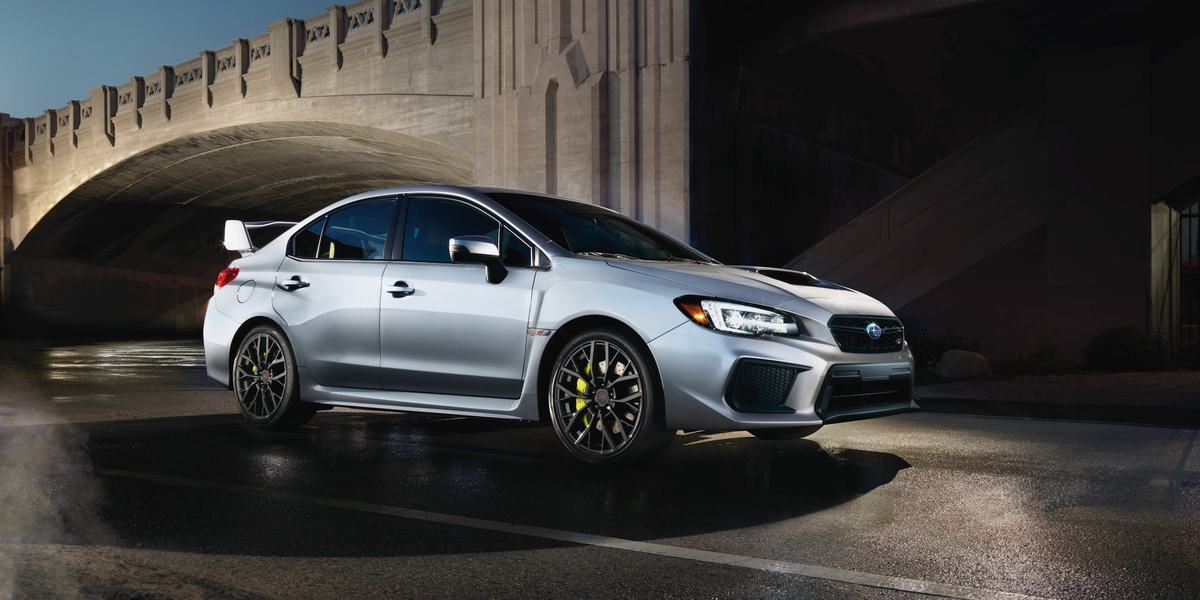 Subaru WRX STI Gets More Horsepower For the First Time in ...