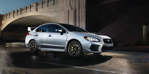 Wrx Sti 0 60 >> Subaru Wrx Sti Gets More Horsepower For The First Time In A Decade