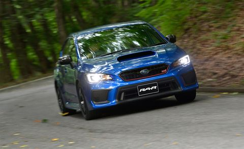Subaru's WRX STI RA-R Is the Ultimate JDM STI