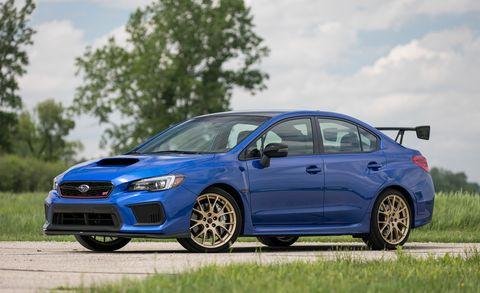 Sti Type Ra >> 2018 Subaru Wrx Sti Type Ra Limited Performance Value