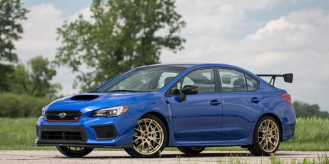2018 Subaru Wrx Sti Type Ra Is A Weak Performance Value Photos