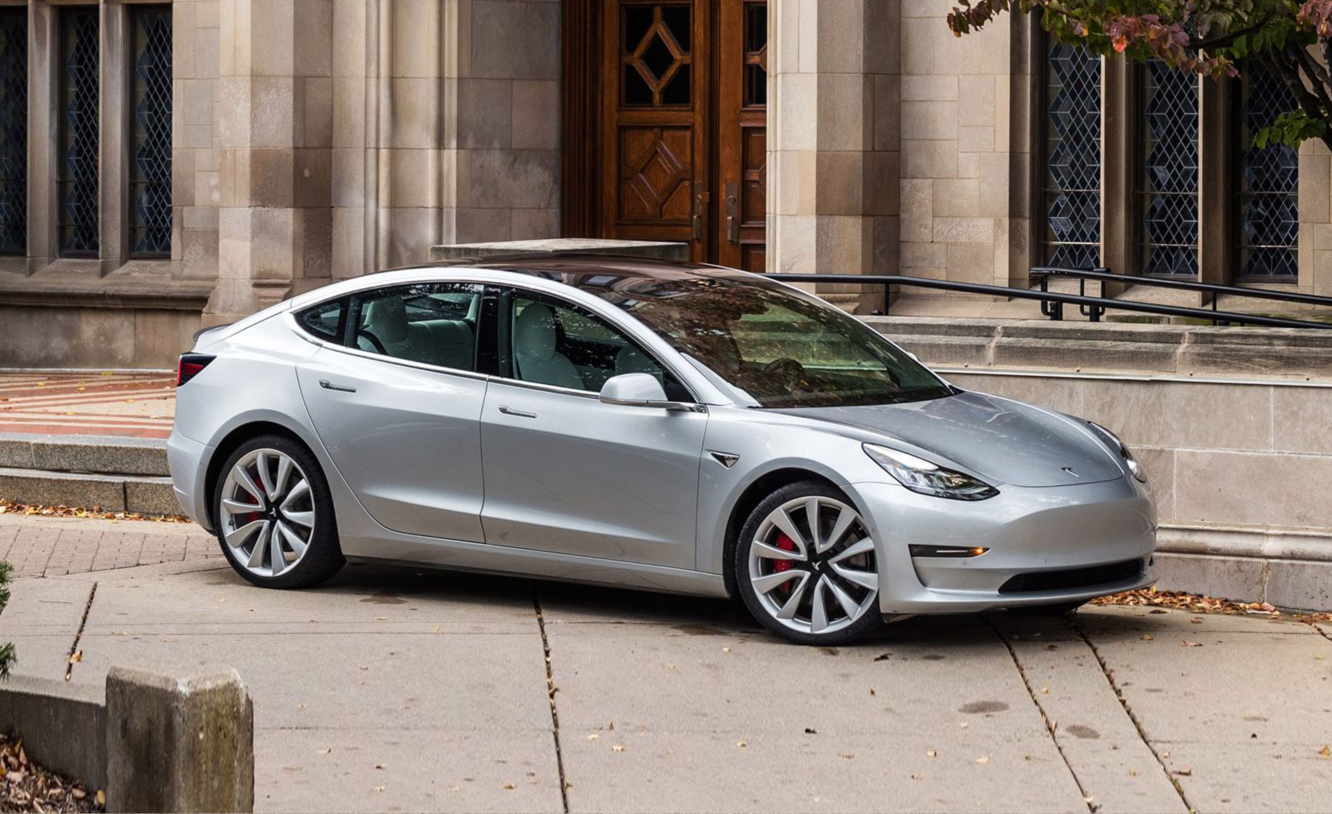 12. Tesla Model 3 It's hard to think of a new car more attention-grabbing in this segment than the Tesla Model 3 . Besides its Tesla glow, the Model 3 offers an enviable combination of extremely quick acceleration and a super-minimalist yet techy interior.