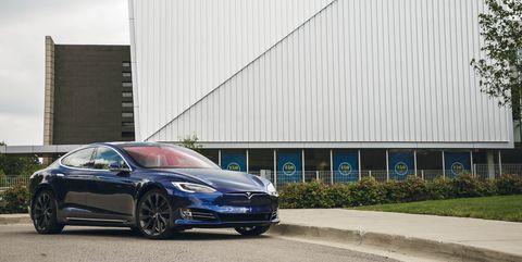 2018 Tesla Model S front