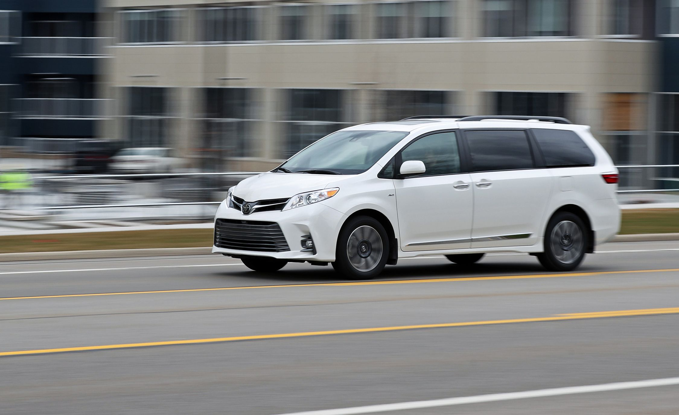 2018 Toyota Sienna Awd Tested Consistent And Persistent Review Car Driver