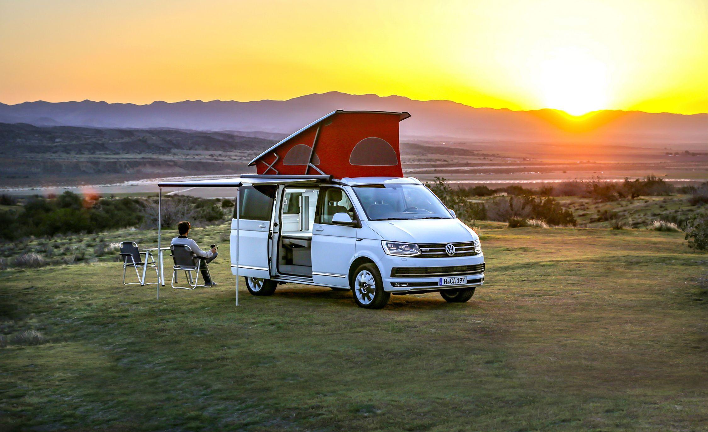 2018 Volkswagen California Camper Van Road Trip