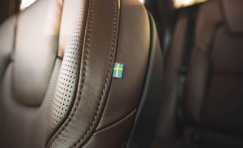 2018 Volvo XC60 T8 seat tag
