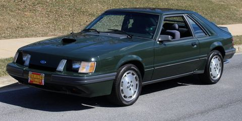 Classic Mustangs Don T Get Much Cooler Than This 1985 Svo