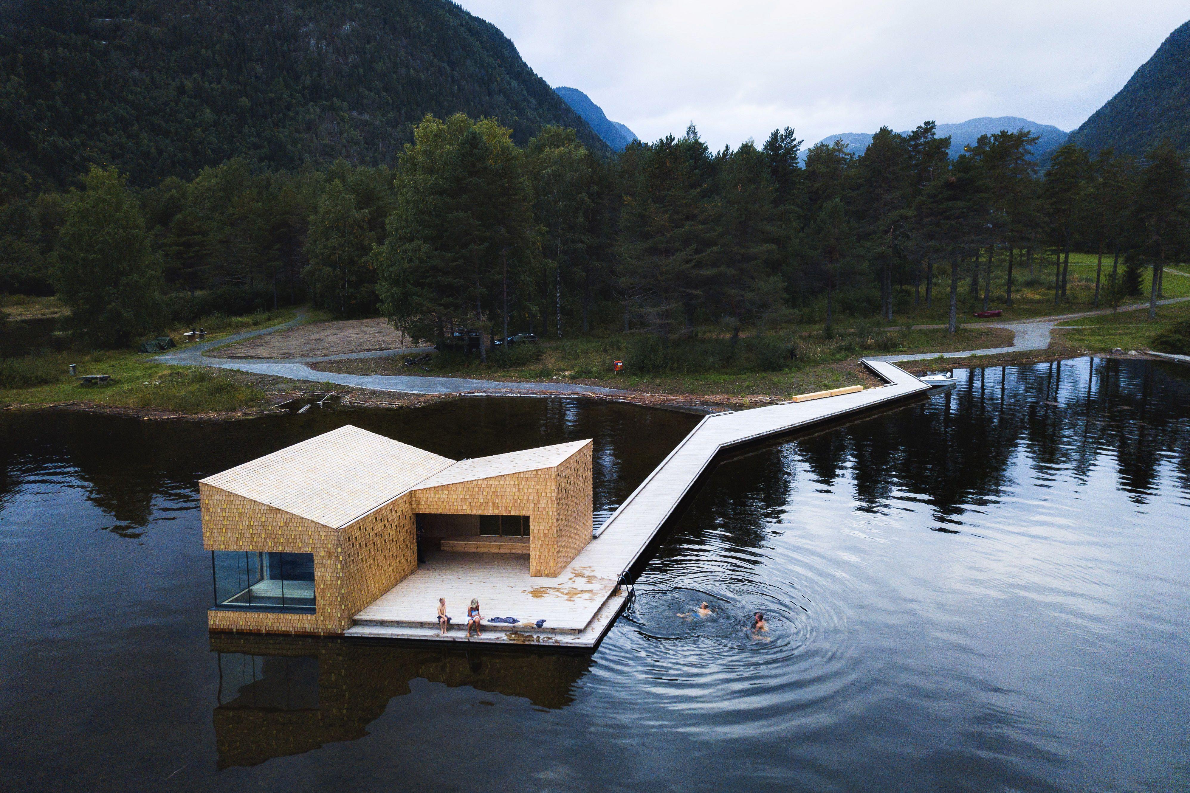 Una selezione di 6 saune di design nei Paesi scandinavi con viste panoramiche mozzafiato.