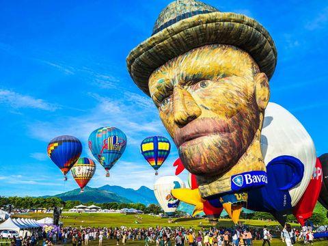 2020台東熱氣球嘉年華光雕音樂會最美星空音樂會日期時間地點