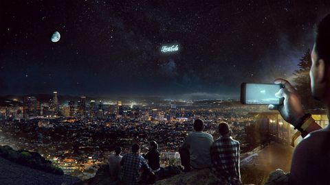 Sky, Night, Cityscape, City, Atmosphere, Outer space, Human settlement, Metropolitan area, Astronomical object, Space,