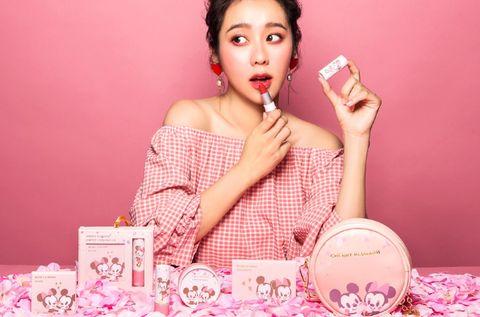 Skin, Pink, Lip, Beauty, Cheek, Material property, Peach, Happy, Eyelash,