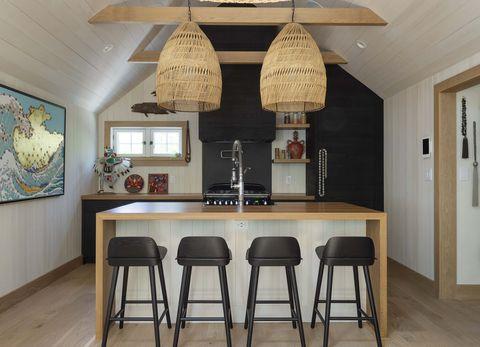 montauk surf lodge kitchen