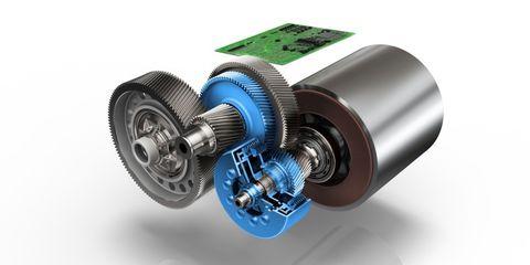 ZF transmisión eléctricos
