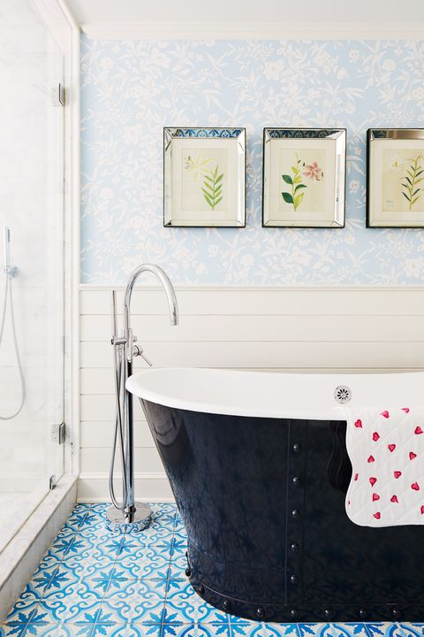 colleen bashaw bathroom with blue tile