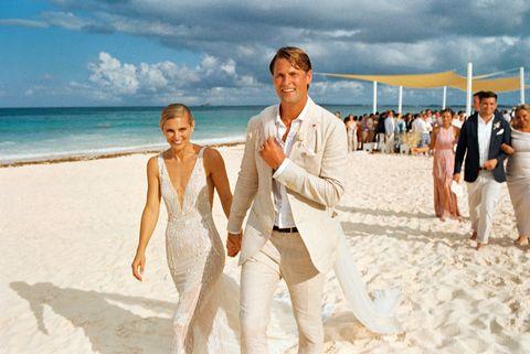 le couple vient de se marier