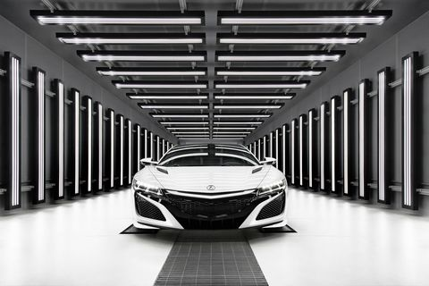 Welcome To Honda's Cutting-Edge NSX Factory