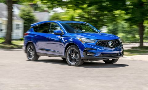 Acura Rdx Dimensions >> The 2019 Acura Rdx A Spec Looks Good But Trails The Competition