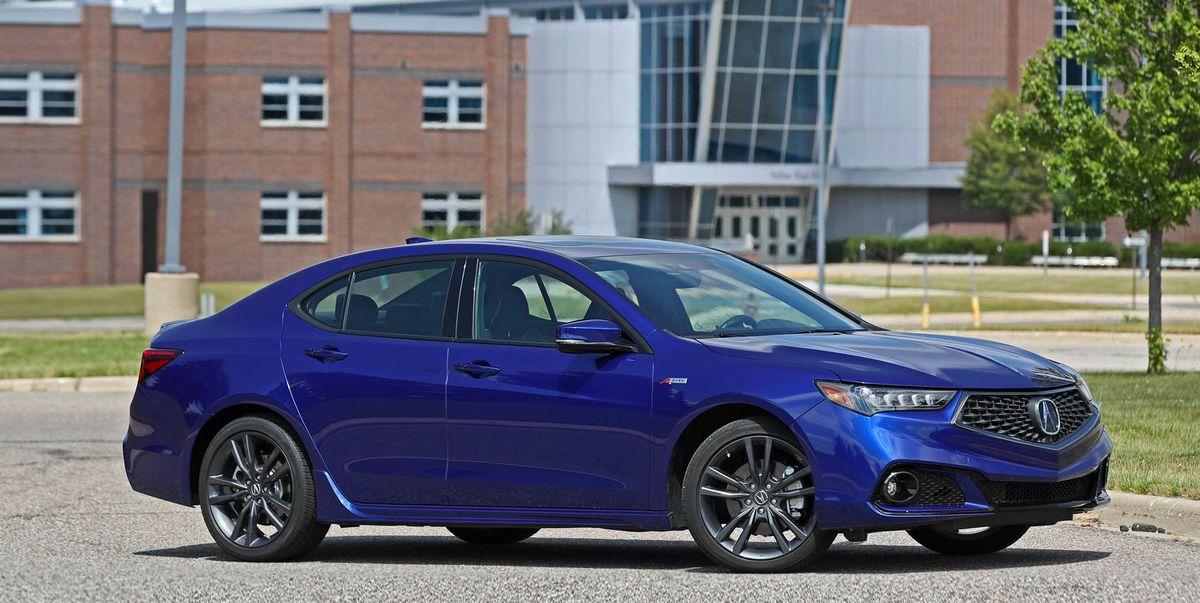 2018 Acura Tlx V 6 Sh Awd A Spec Test