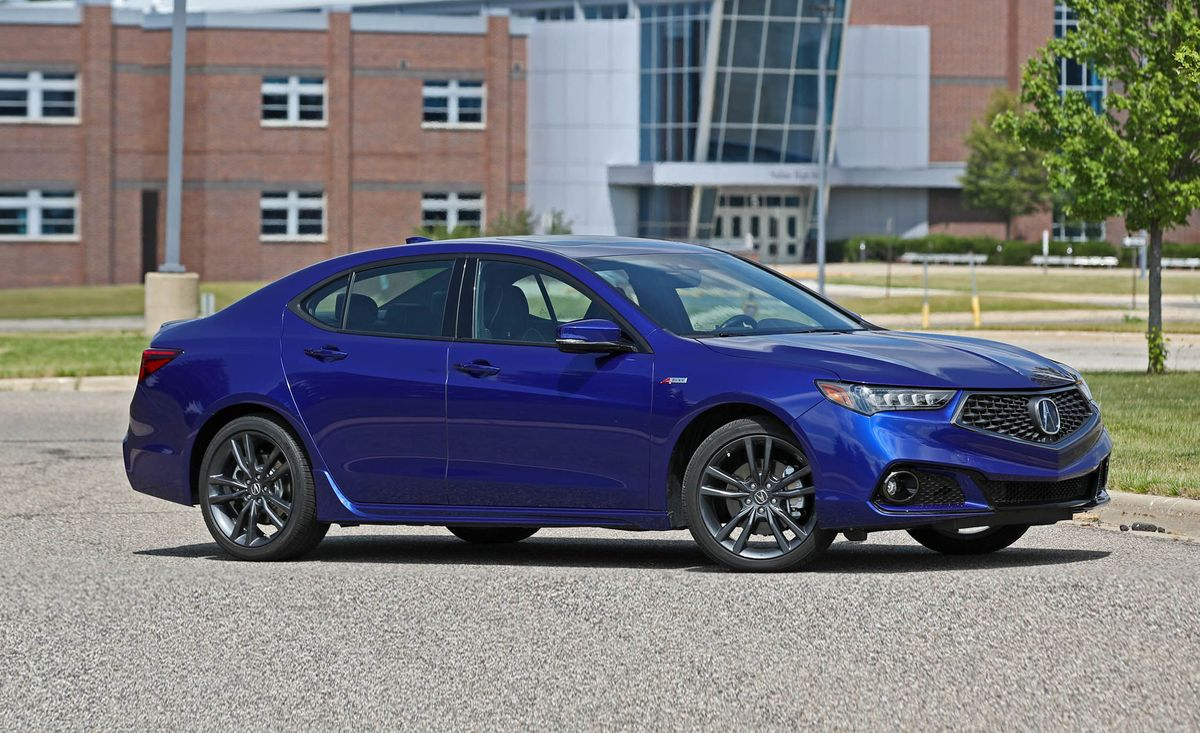 2018 Acura Tlx V 6 Sh Awd A Spec Test Review Car And Driver