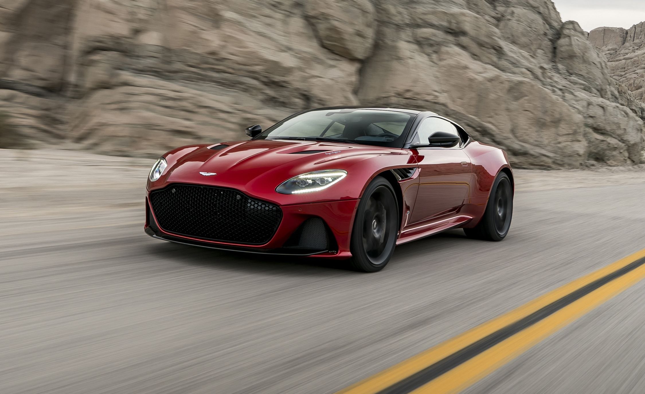 2019 aston martin dbs superleggera revealed! | news | car and driver