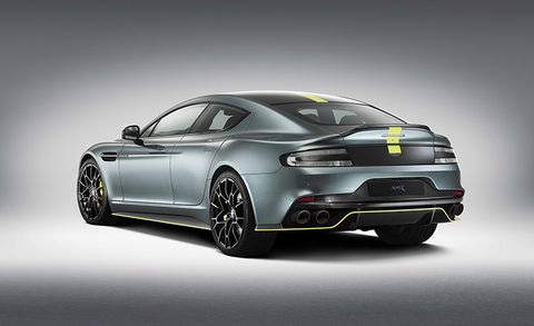 2019 Aston Martin Rapide Amr Gets More Power More Rapidness News Car And Driver