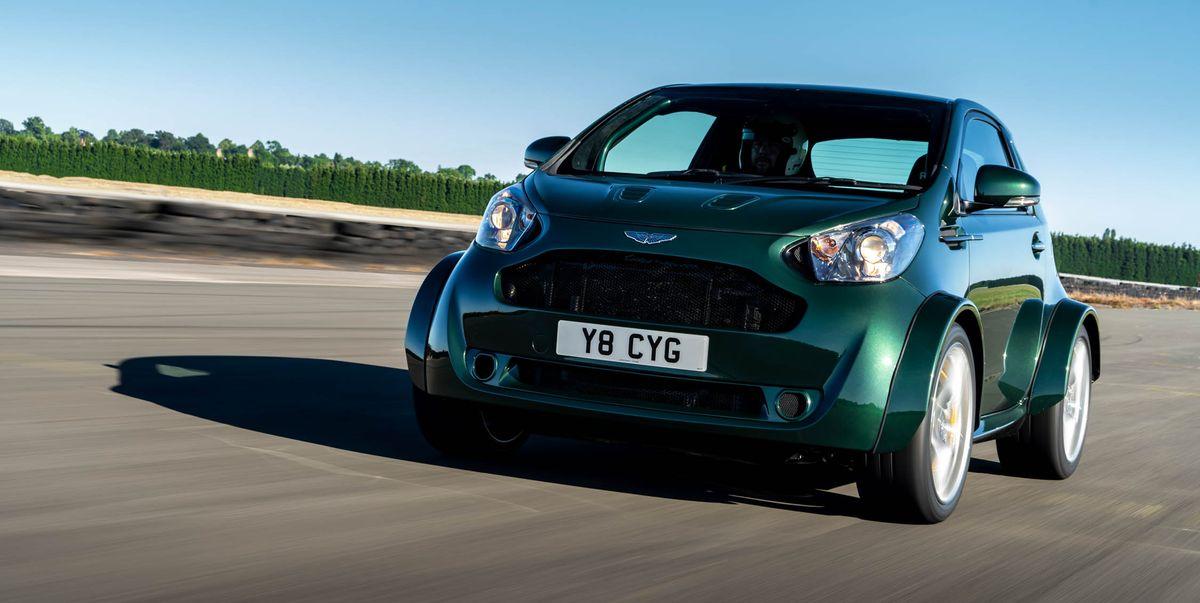 Aston Martin Stuffed A V 8 Into Its Tiny Cygnet City Car News Car And Driver