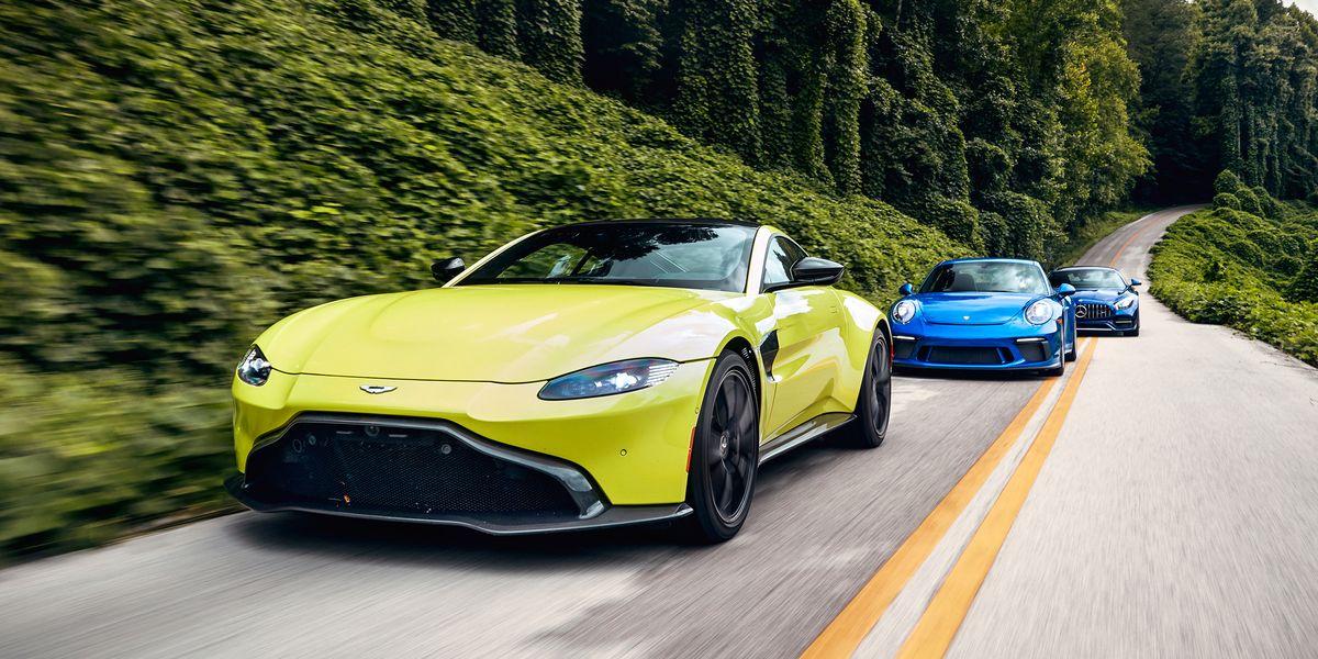 Aston Martin Vantage Vs Mercedes Amg Gt And Porsche 911 Gt3