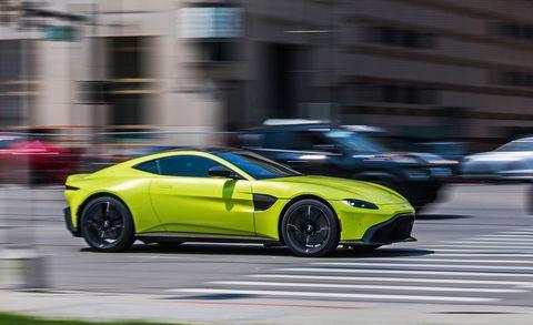 2019 Aston Martin Vantage Is A 503 Hp V 8 Sports Car