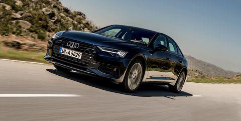 Land vehicle, Vehicle, Car, Audi, Luxury vehicle, Audi a6, Automotive design, Personal luxury car, Executive car, Mid-size car,
