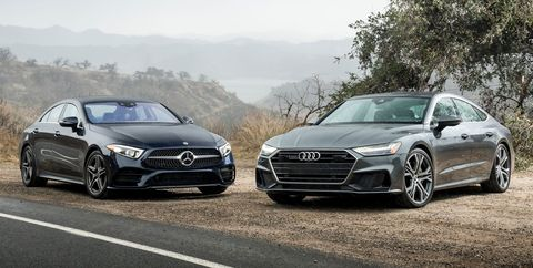 2019 Audi A7 And Mercedes Benz Cls450 Face Off