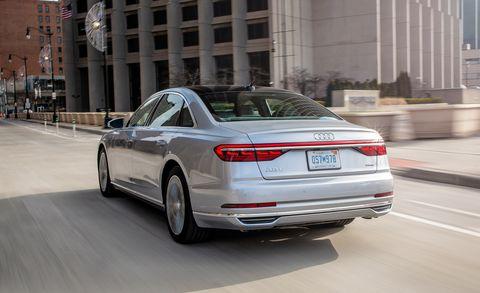 Land vehicle, Vehicle, Car, Luxury vehicle, Automotive design, Motor vehicle, Mid-size car, Audi, Personal luxury car, Sedan,