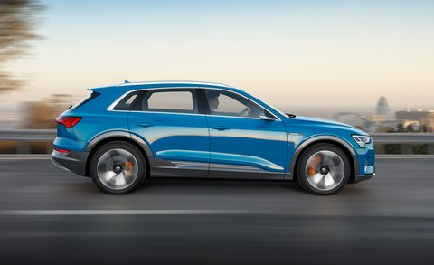 2019 Audi E Tron New Fully Electric Crossover Arrives