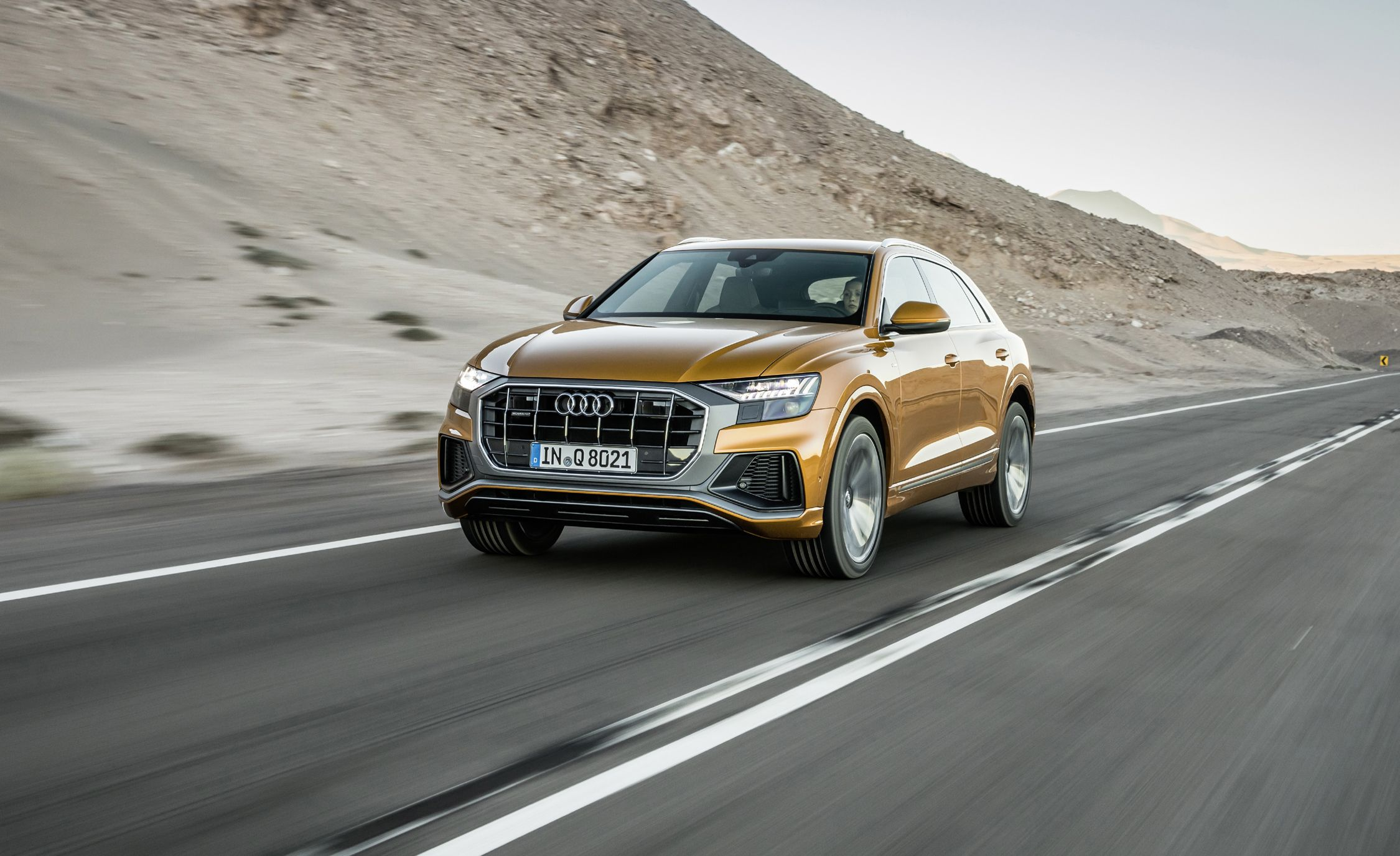 2019 Audi Q8 First Drive Stop Making Sense Review Car And Driver