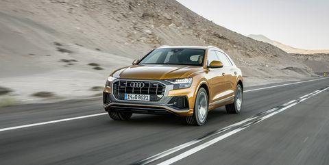 Land vehicle, Vehicle, Car, Automotive design, Audi, Motor vehicle, Sport utility vehicle, Personal luxury car, Mid-size car, Performance car,