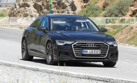 Future Cars New Audi S6 Caught Testing News Car And Driver