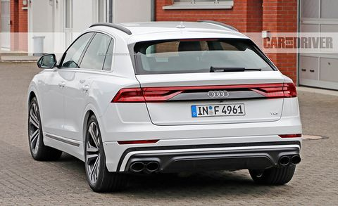 2019 Audi Sq8 Spied Uncovered A Sportier Version Of The Sportier Q7