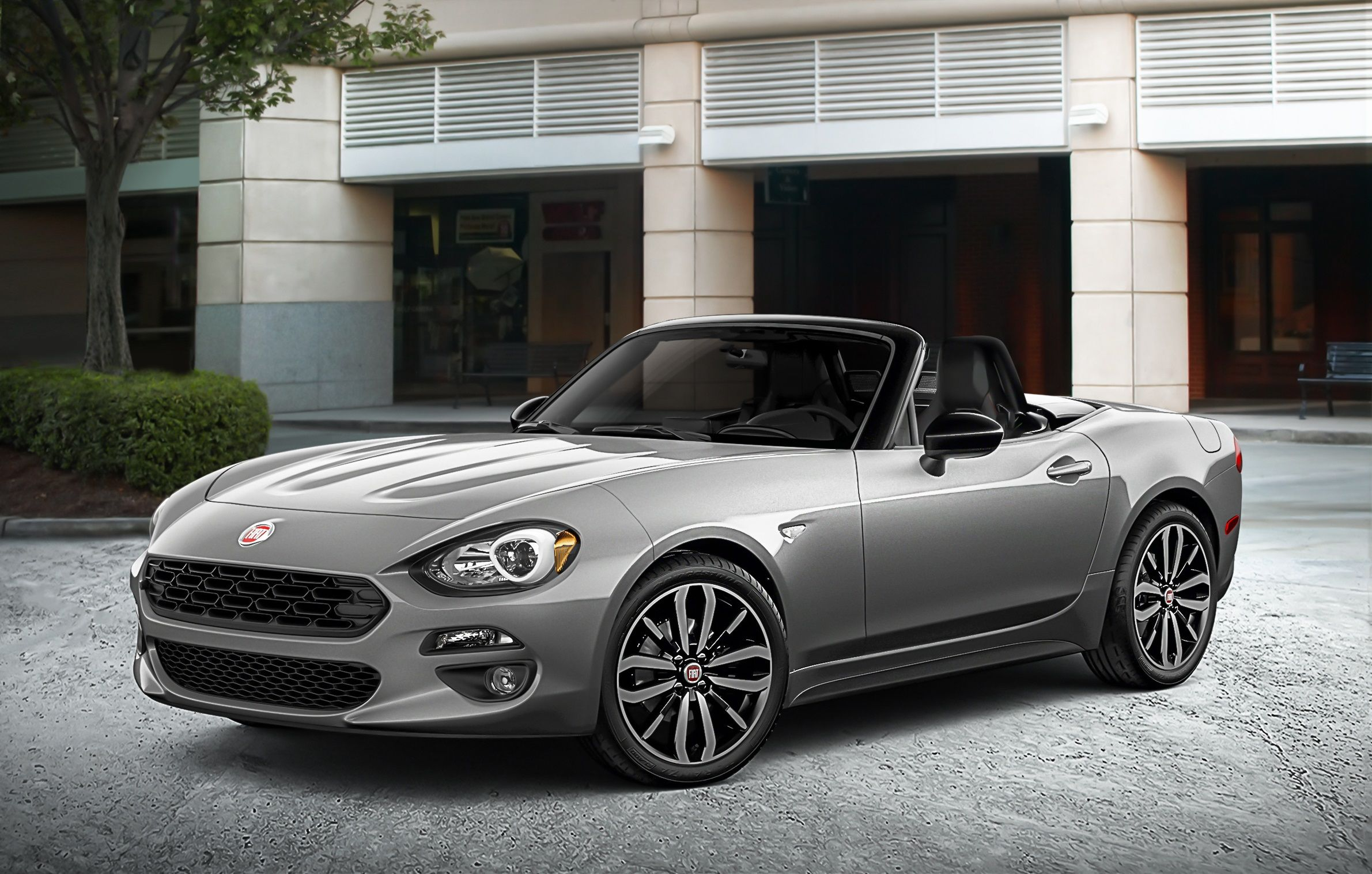 2019 Fiat 124 Spider Convertible Gets Blacked Out Appearance Package