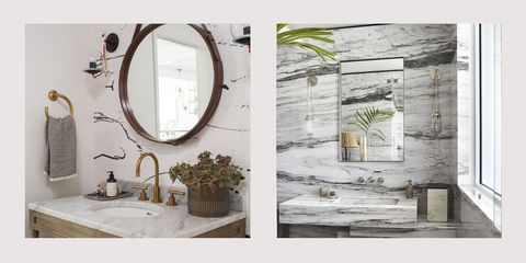 Master Bathroom Decorating Ideas 2020 Top Bathroom Trends of 2019   What Bathroom Styles Are In & Out