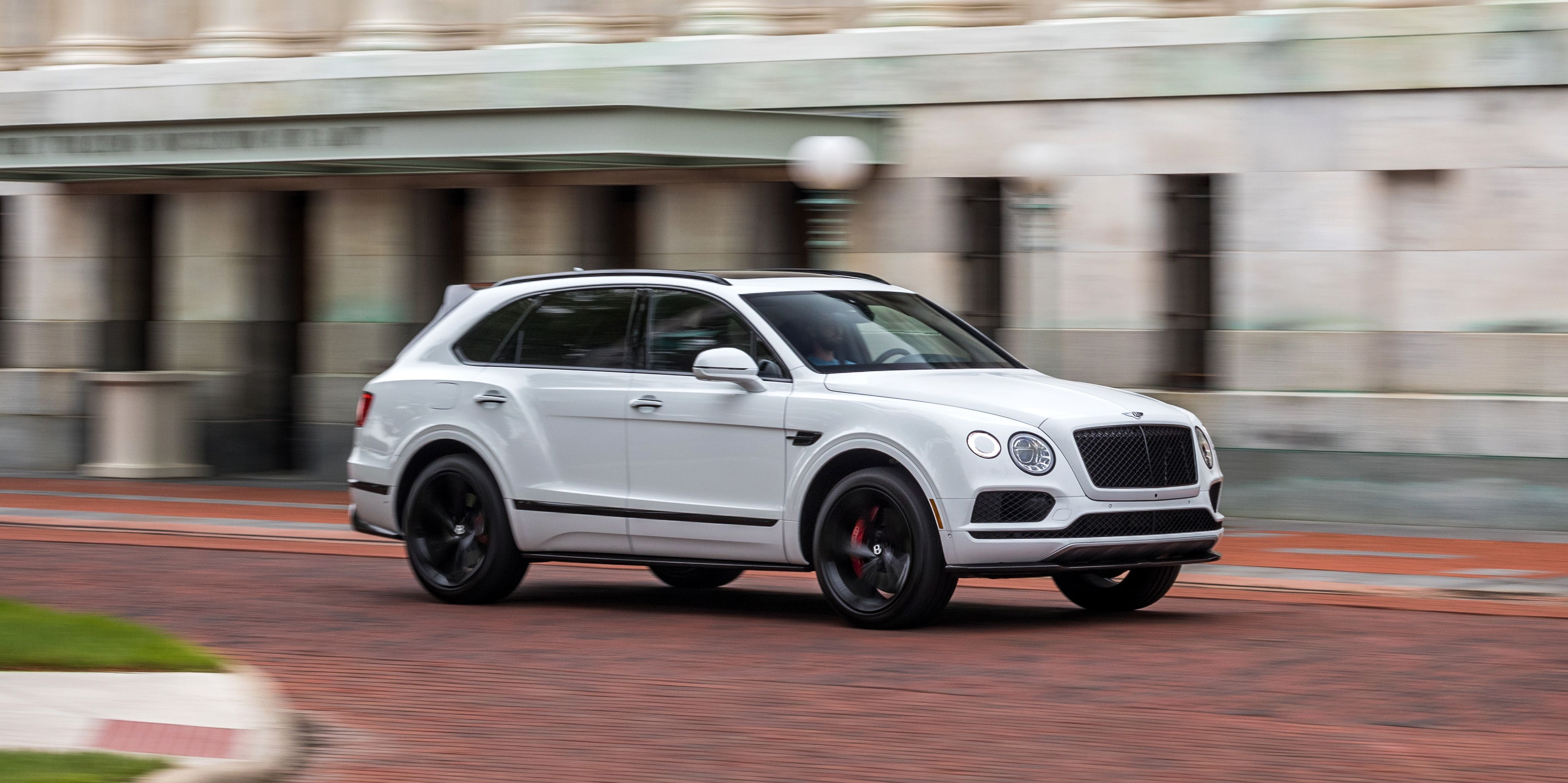 The 2019 Bentley Bentayga V8 Is Nearly as Good as It Is with a W-12