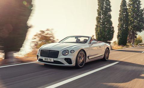 Land vehicle, Vehicle, Car, Luxury vehicle, Bentley, Automotive design, Performance car, Bentley continental gt, Personal luxury car, Convertible,